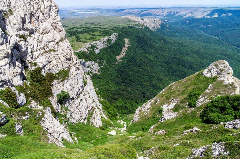 высота гор в крыму