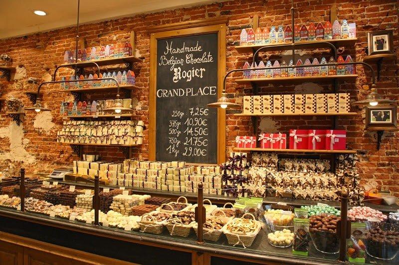 магазин в Бельгии