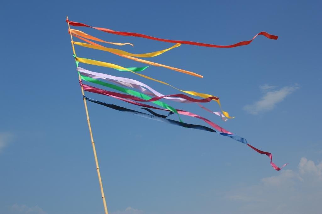 флаг и небо