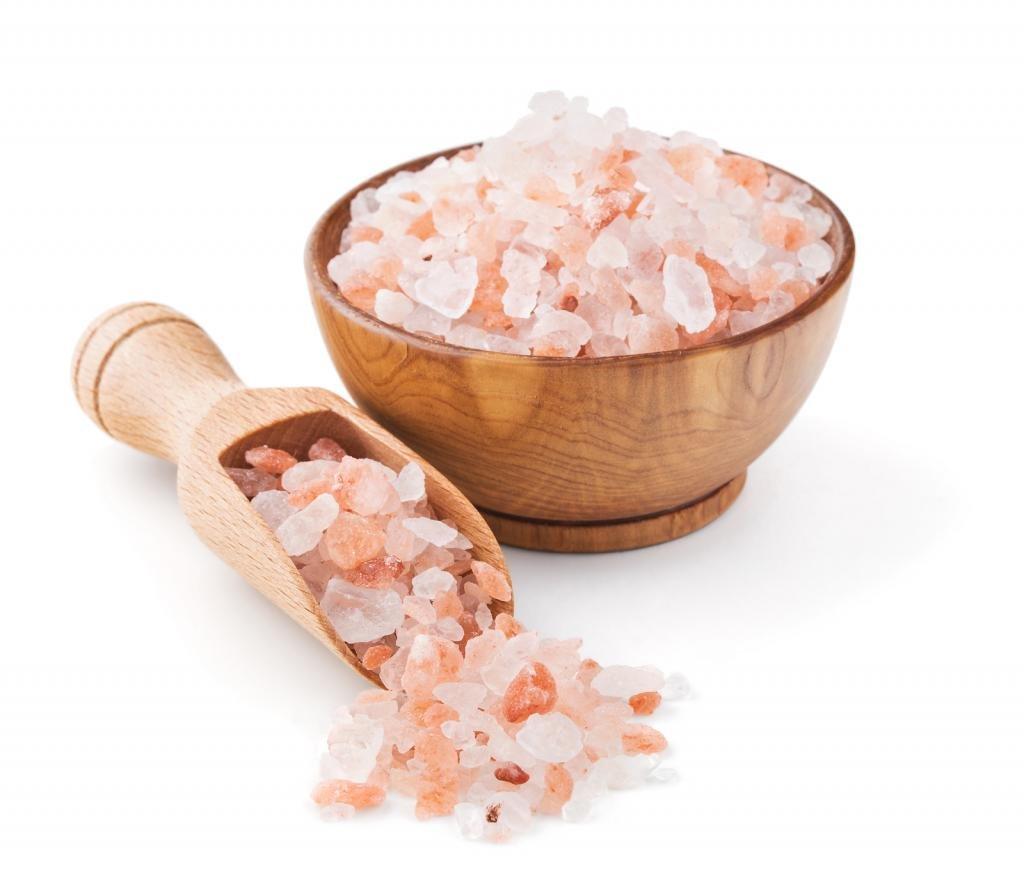Розовая соль крымская применение