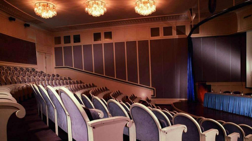 Англетер. Кинотеатр в Питере
