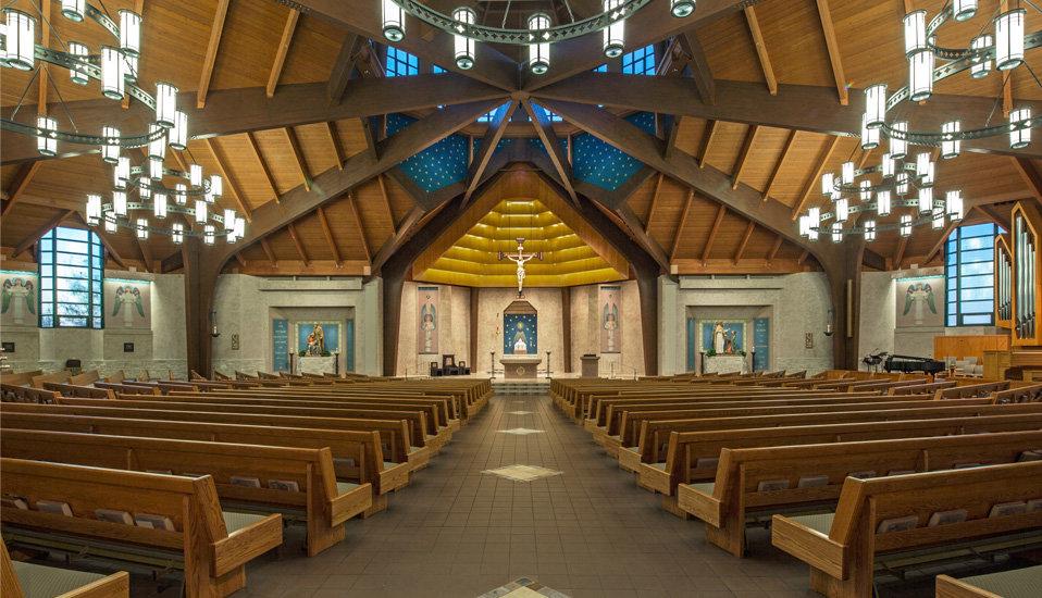 Молельный зал.