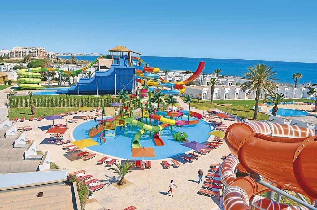 Аквапарк в Тунисе в Суссе