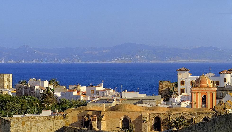 Вид на Африку и Гибралтар