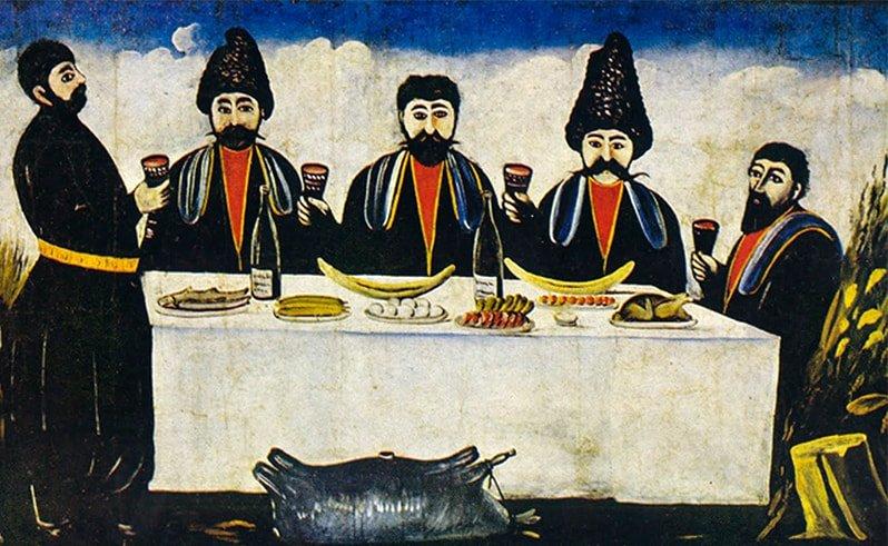 картина грузинского художника
