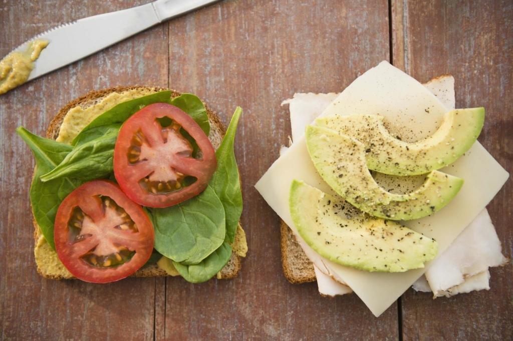 Бутерброды с авокадо