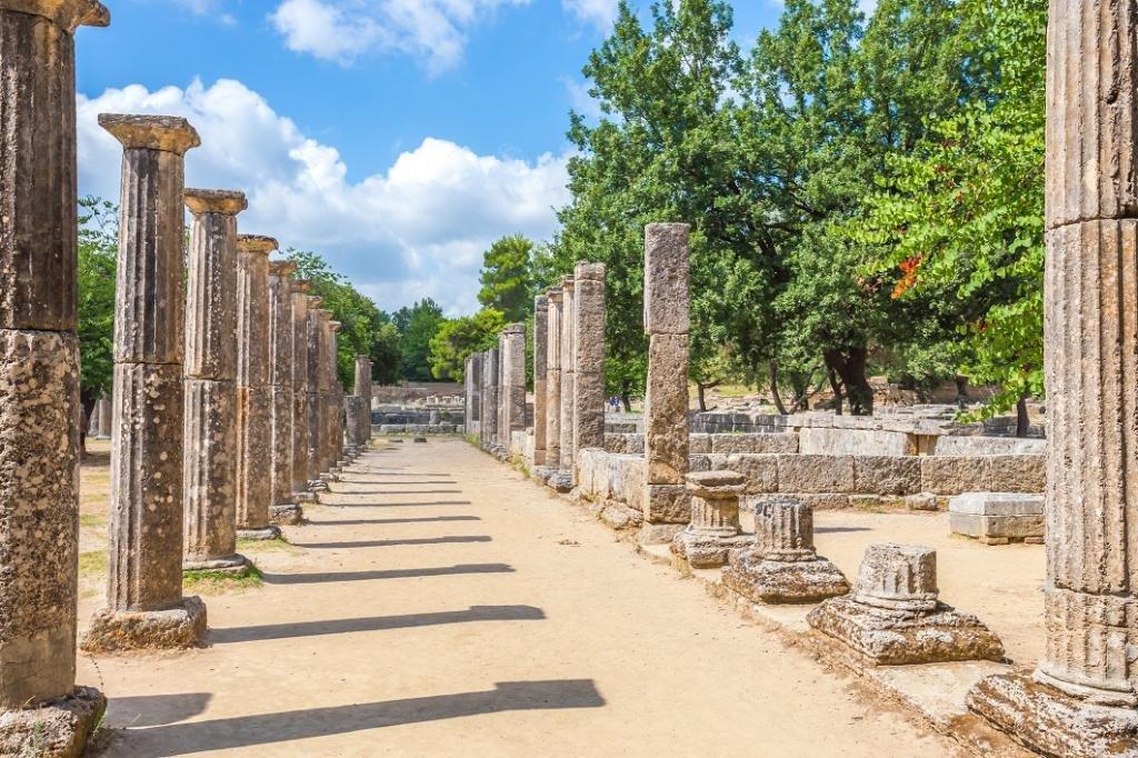 руины Олимпии