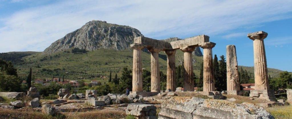 руины Коринфа