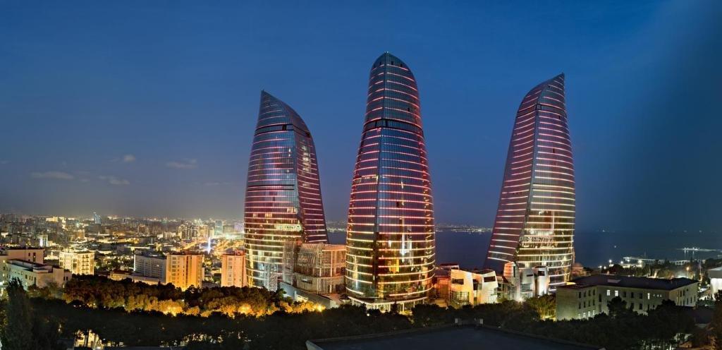Городской пейзаж Азербайджана