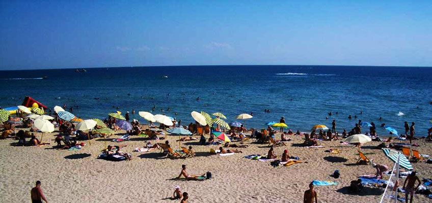 Евпатория пляж