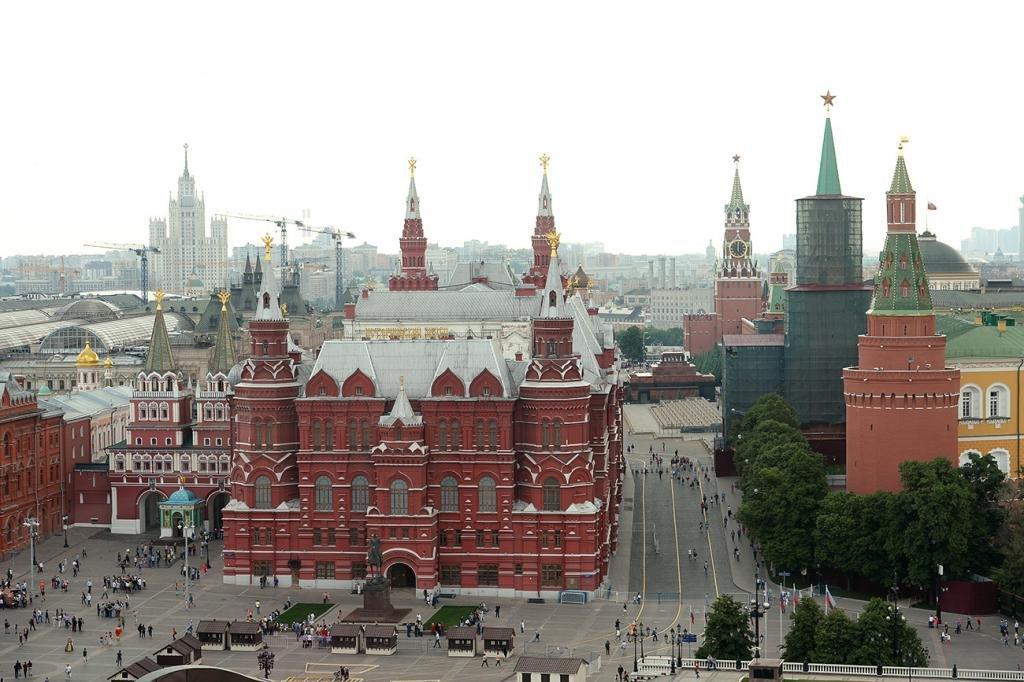 Красная площадь в столице