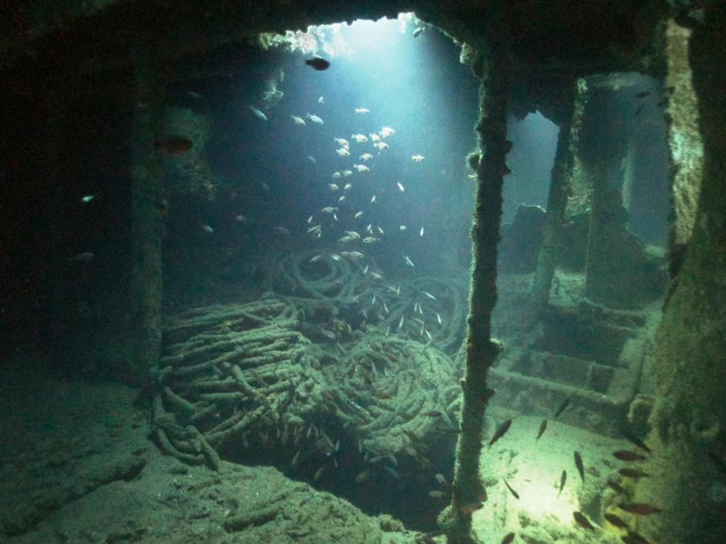 Внутренние помещения парома