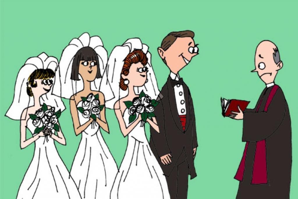 полигамия в картинках