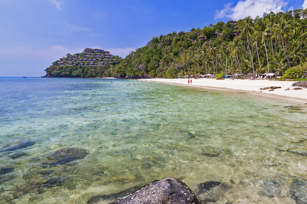 Пляж Панвана Пхукете в Таиланде