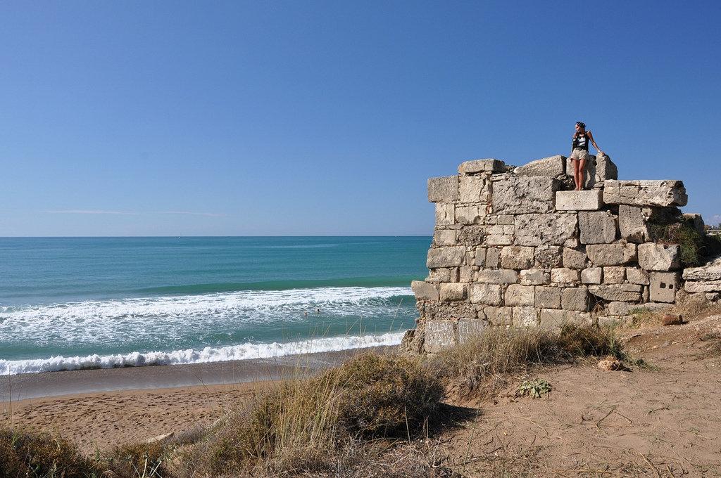 Городские стены Сиде