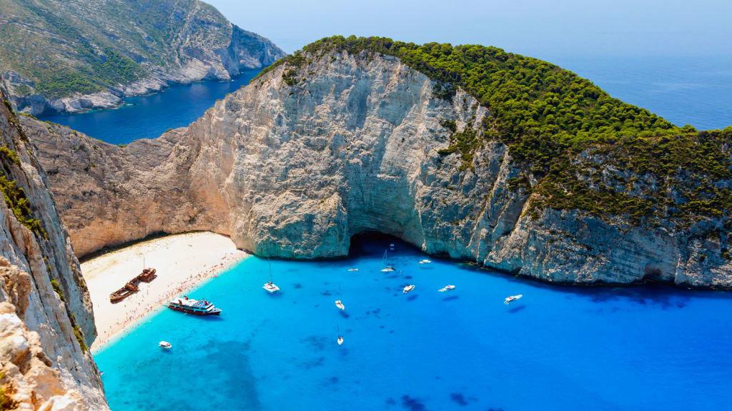 Залив Греции