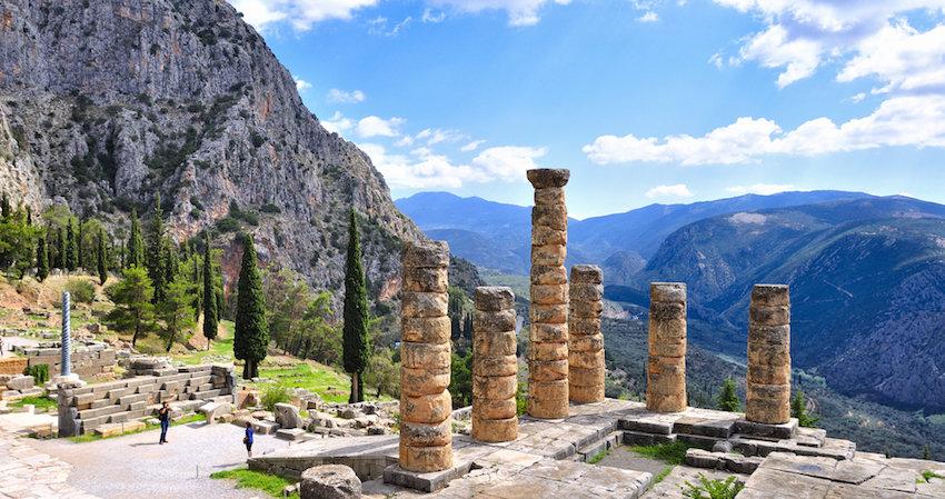Руины Греции