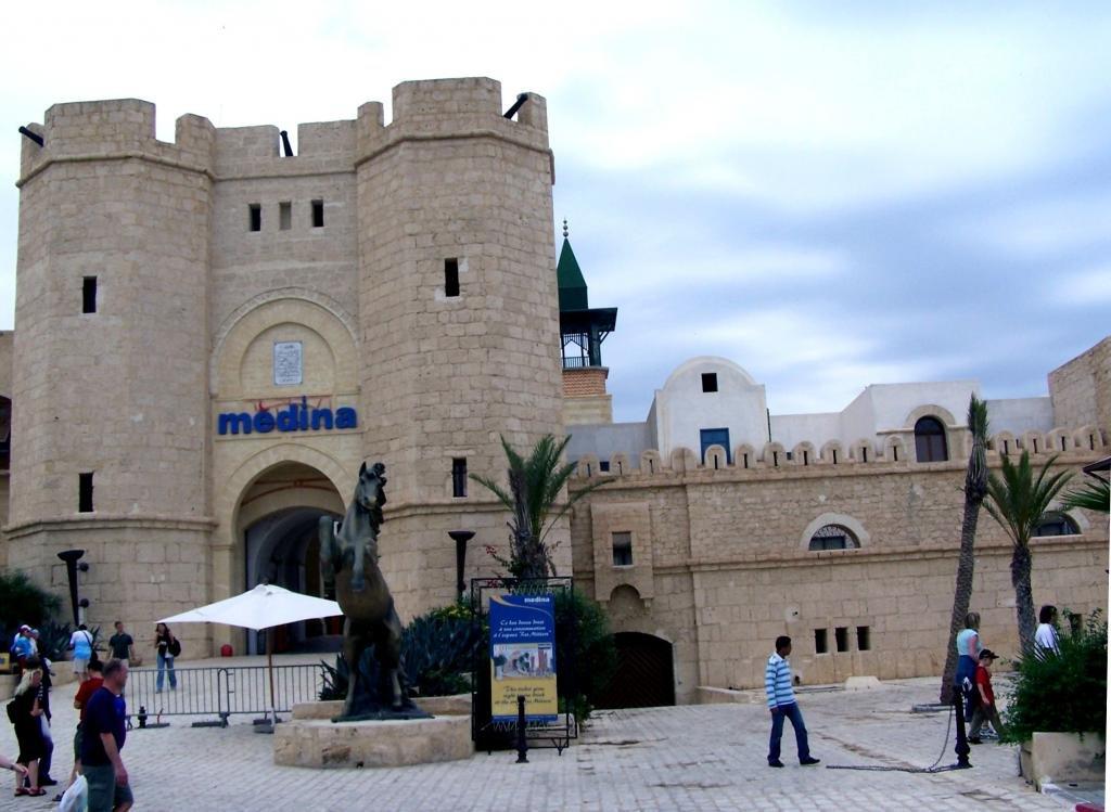 Крепость в Хаммамете