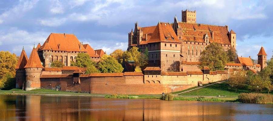 Замок в городе Мальборк