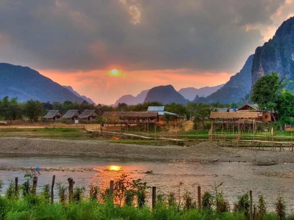 Природа Лаоса