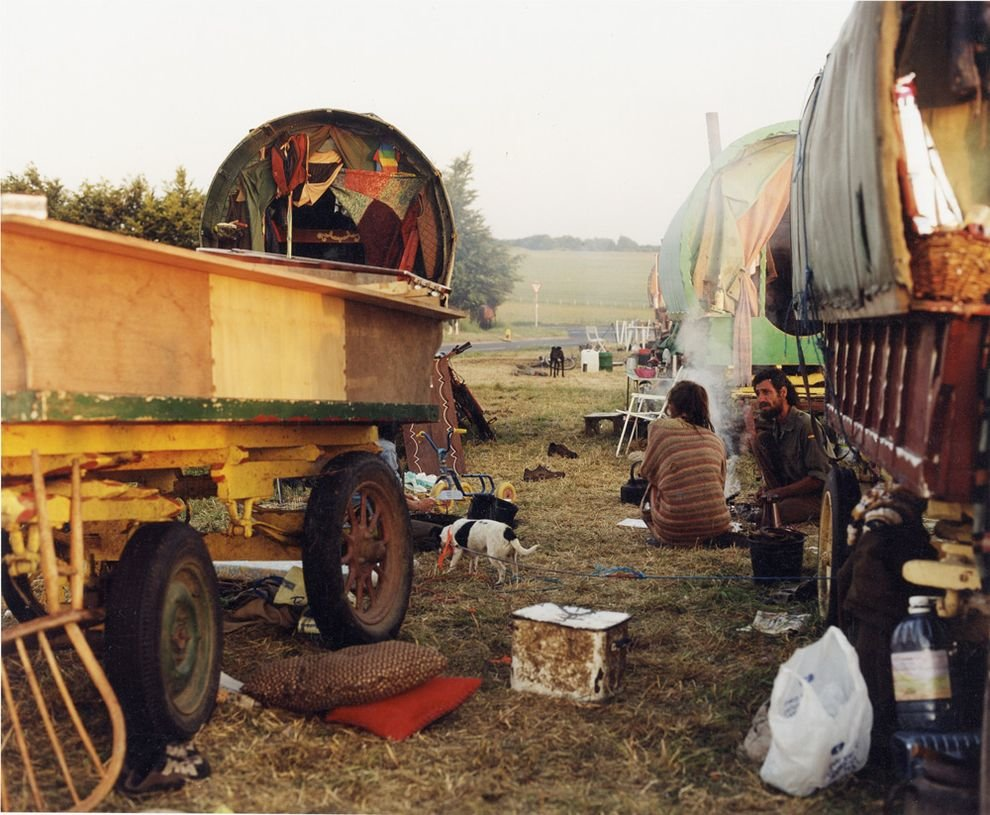 Современный цыганский табор, Украина