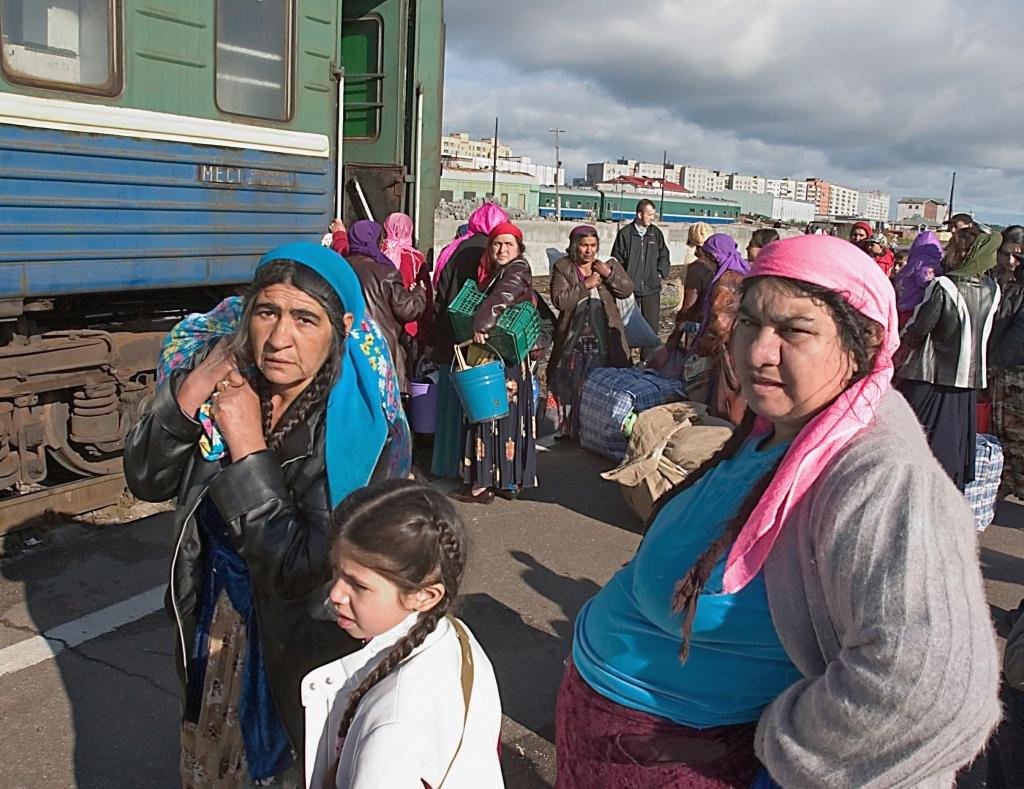 Кочующие цыгане, современная действительность