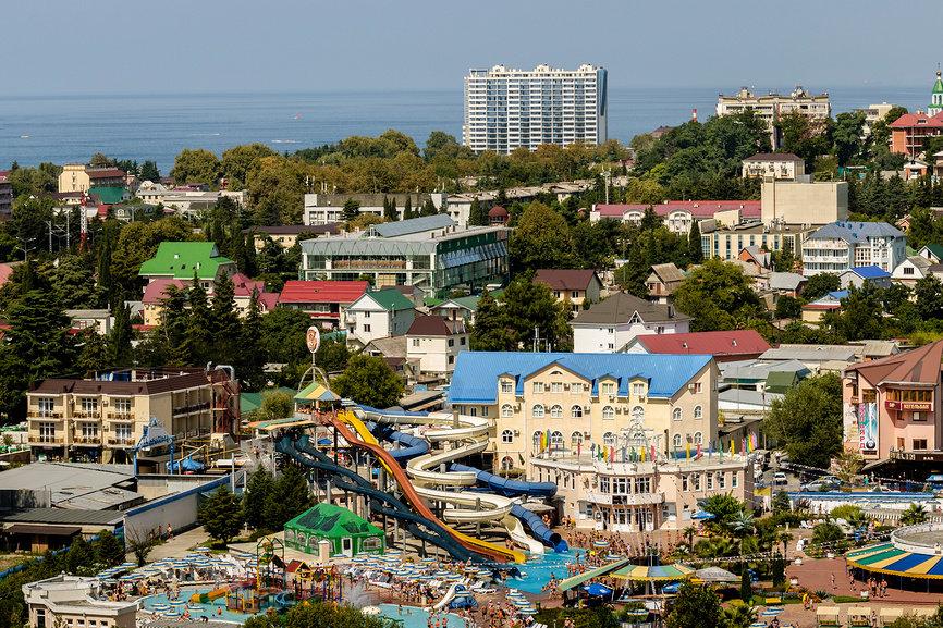 Аквапарк в поселке Лазаревский