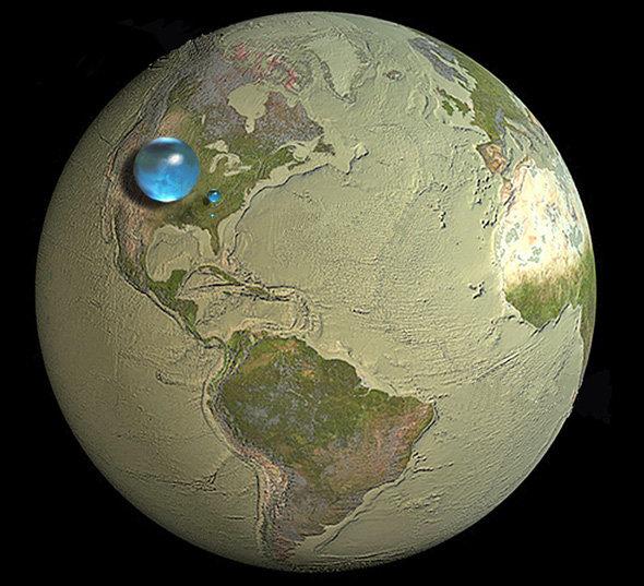 Земля без воды