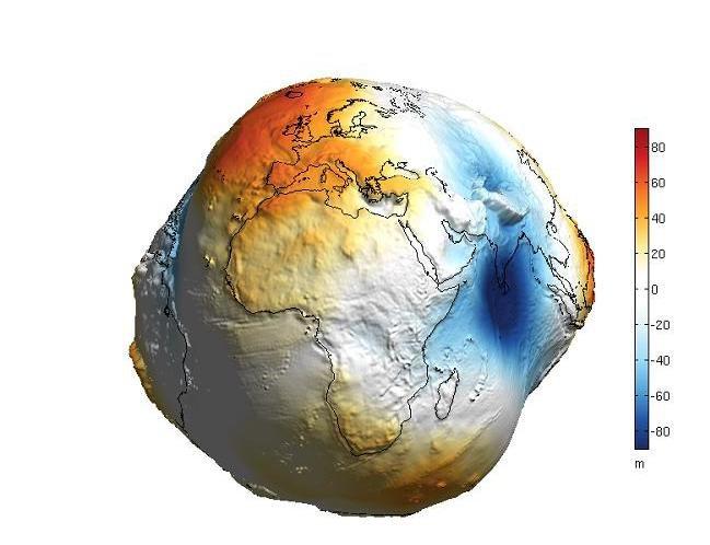 Ошибочное представление о Земле без воды