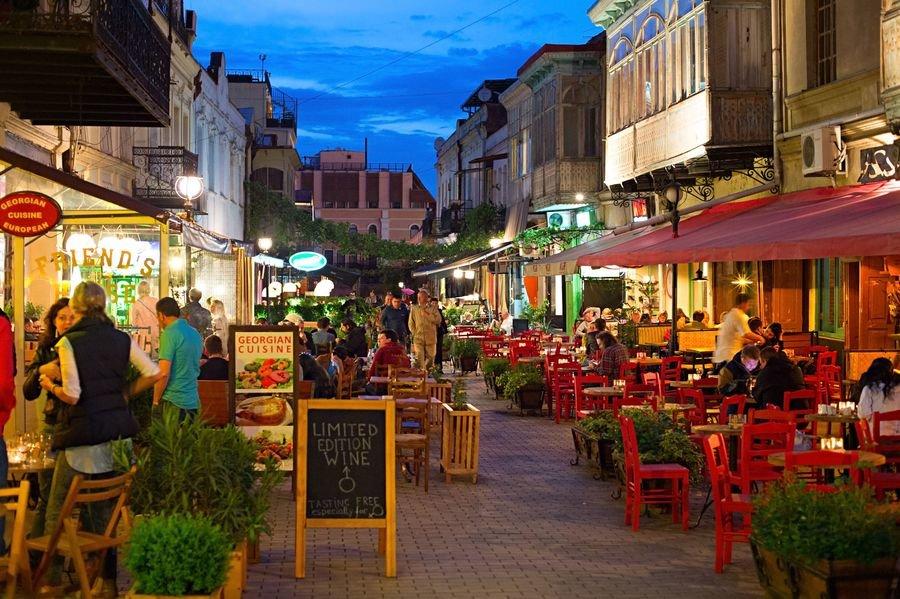 Рестораны Грузии