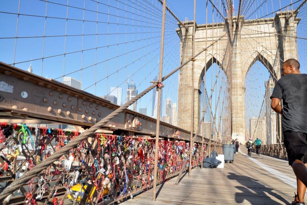Где находится Бруклинский мост