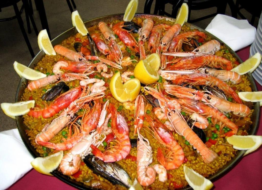 Морепродукты в ресторане Бразилии