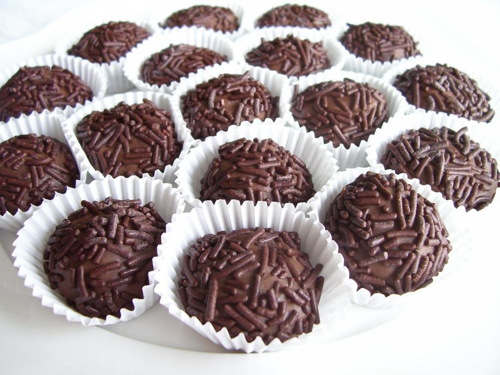 Бригадейро - шоколадные конфеты
