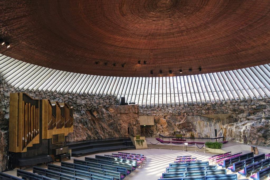 Лютеранская церковь в Хельсинки