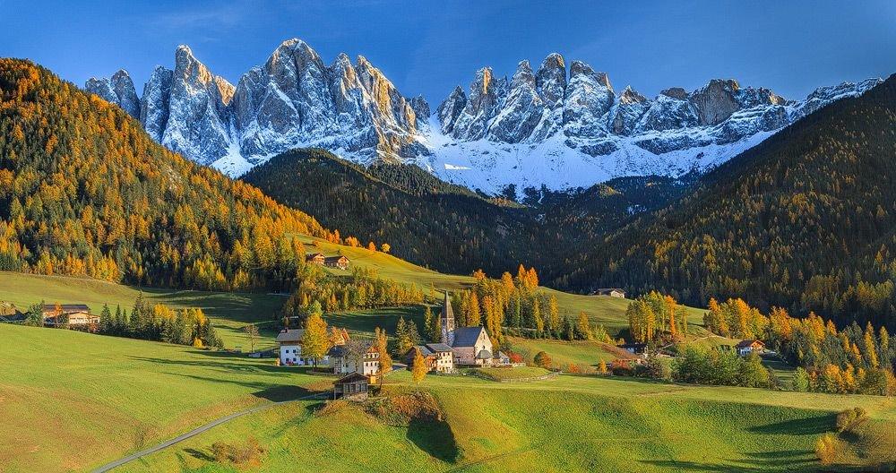 Горы в Италии