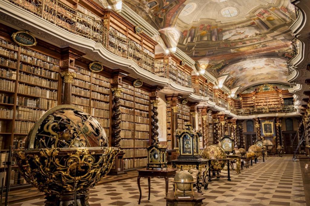 библиотека Кдиментинум в Праге