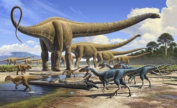 Откуда появились динозавры