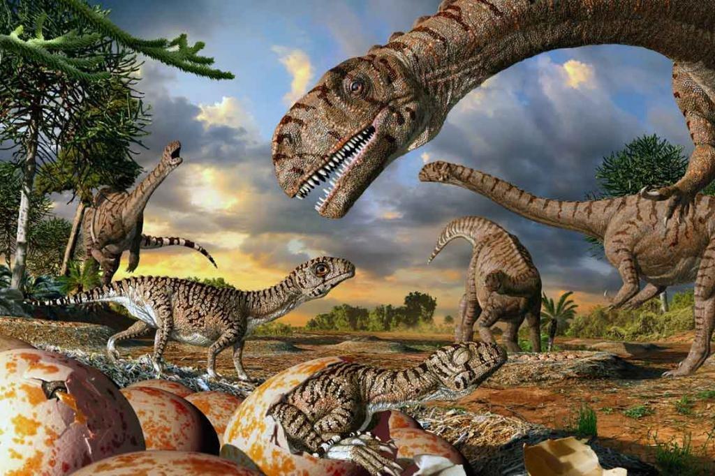 Откуда взялись динозавры