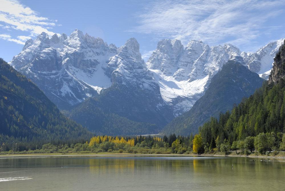 знаменитые озера италии
