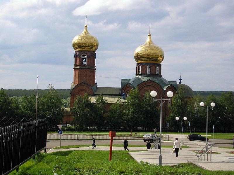 Свято-Вознесенский собор в Набережных Челнах (Боровецкая церковь)