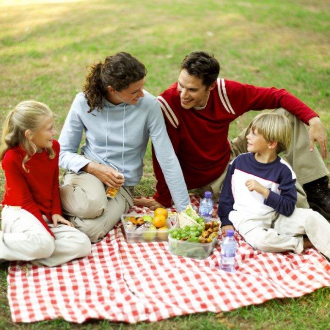 Как отдохнуть на природе с семьей