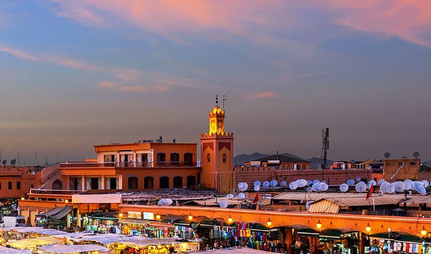 Вид на Марокко