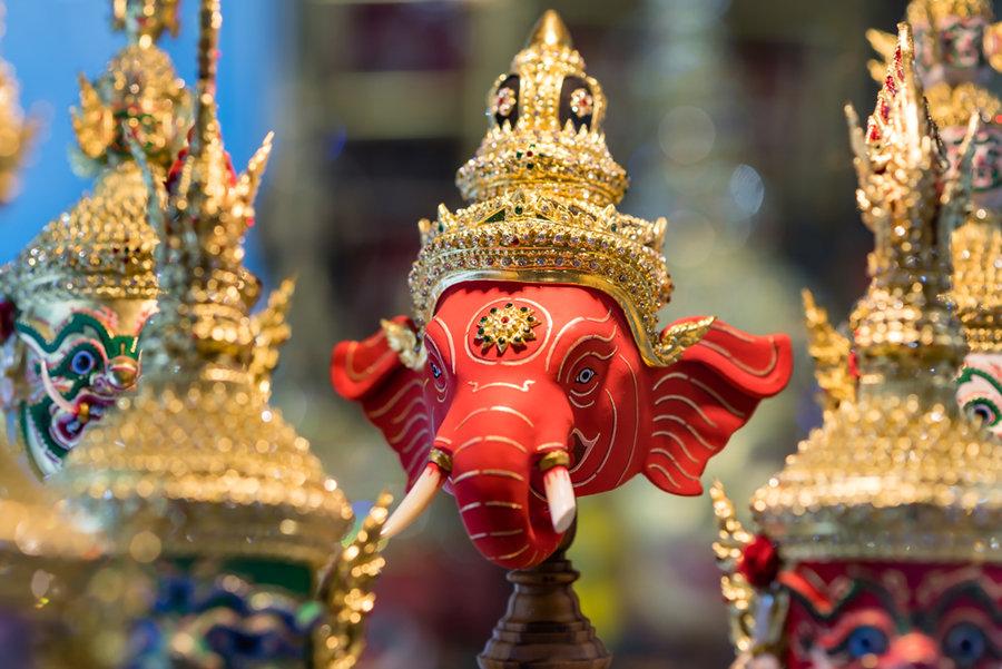 Фигура индийского слона