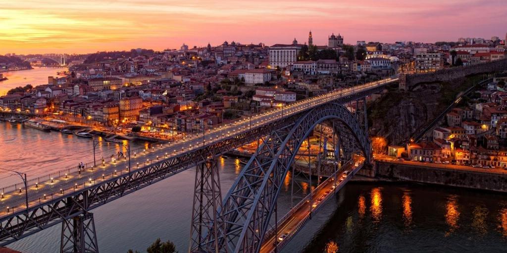 Мост Дона Луиша в Порту