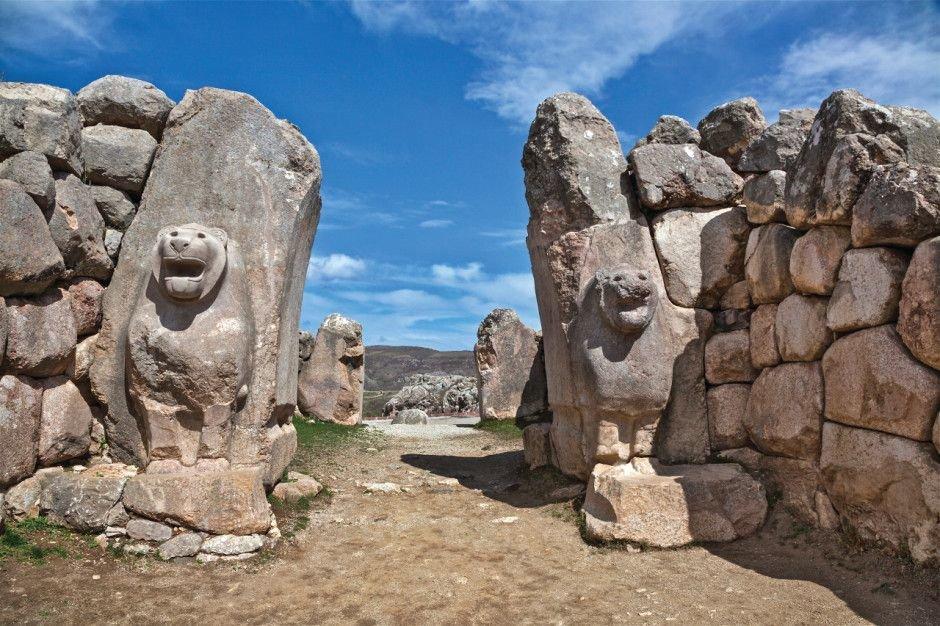 руины Хаттуша