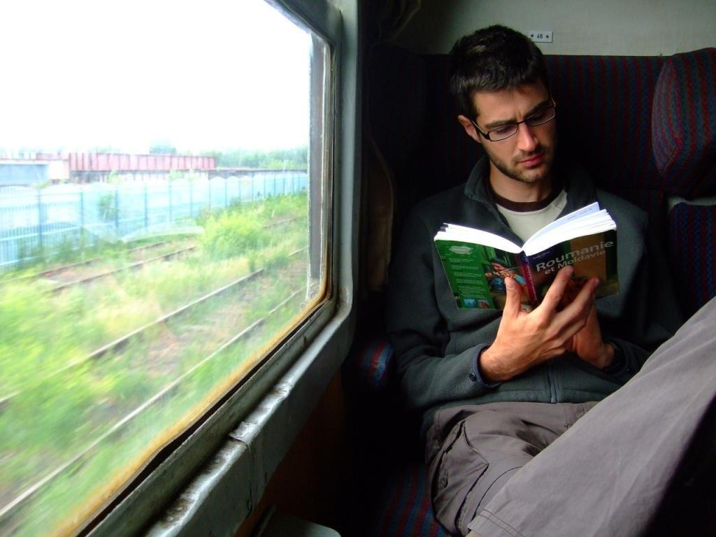 читать в поезде
