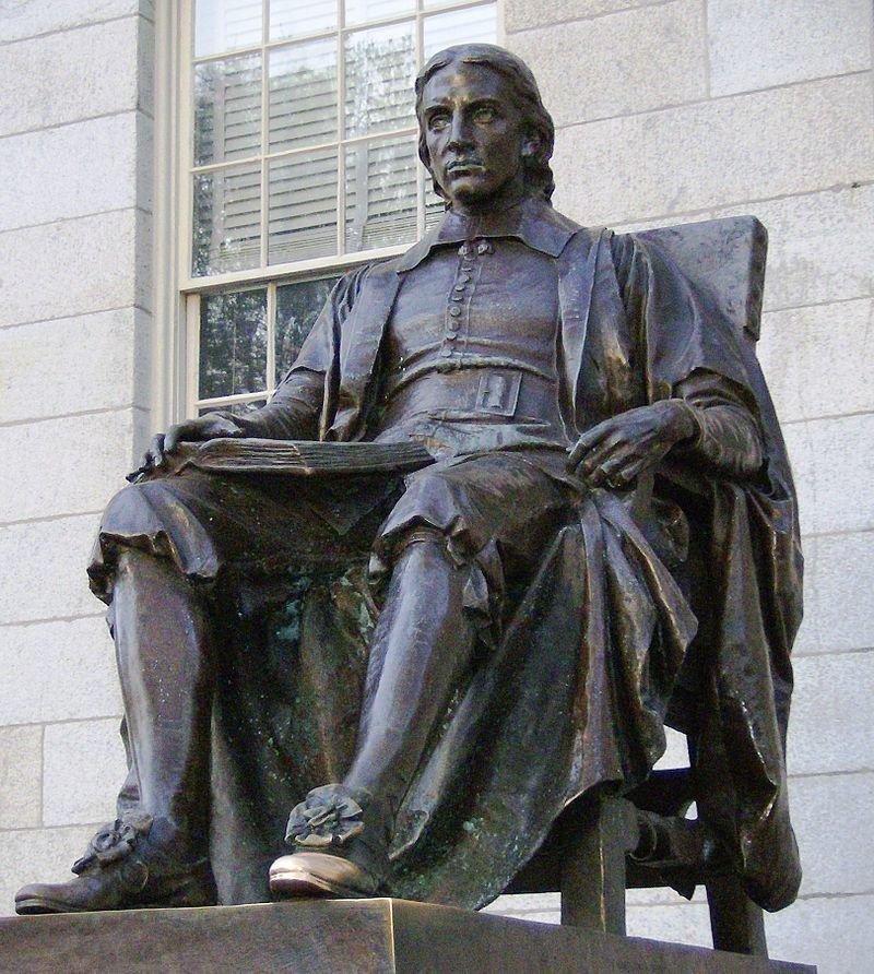 Памятник Джона Гарварда