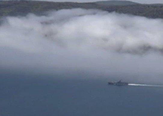 Море в дыму