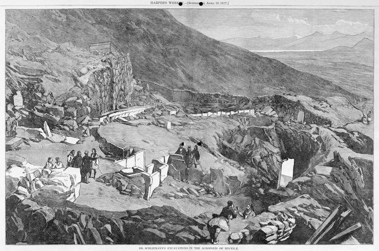 раскопки на месте Трои