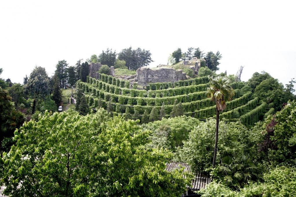 Руины древней византийской крепости Петра